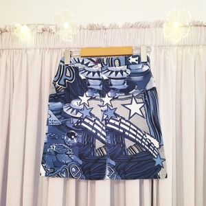 Juicy Couture Pop Art Skirt